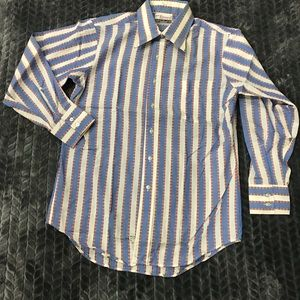 Other - 60s-70s vintage men's long sleeve shirt